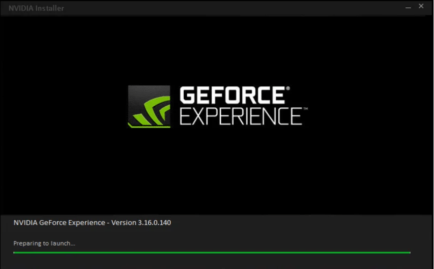 installing geforce experience