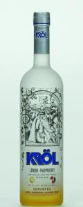 Krol Lemon Raspberry vodka - Copy
