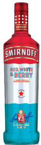 Smirnoff Red White and Berry Vodka