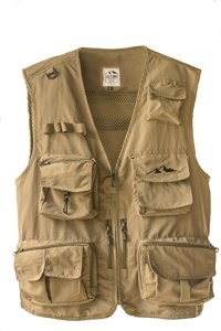 Picture of Outdoor Fly Fishing Vest with 16 Pockets