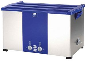 Ultrasonic Cleaner, 7.4 gal. Tank, Timer Range 1 to 30 min, Voltage 110/120