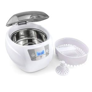 AC110V 35W Multifunctional Ultrasonic Cleaner 35W 40Khz Jewelry Ring Necklace Cleaning Tool w/Basket Holder