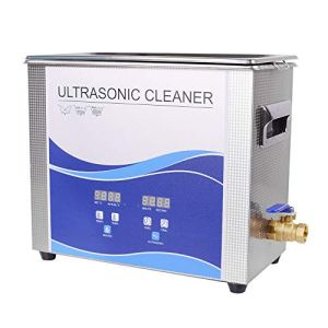 Digital Ultrasonic Cleaner 30L 600W/600W Ultrasonic Cleaner with Heating Bath for Metal Hardware Fuel Injector Nail Dental Tool Dental Watches Glasses Coins Tool Part Remove Carbon