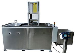 SHARPTERTEK Automatic Ultrasonic Cleaner Power Lift With Agitation 105 Gallon