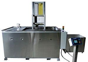 SHARPTERTEK Automatic Ultrasonic Cleaner Power Lift With Agitation 106 Gallon