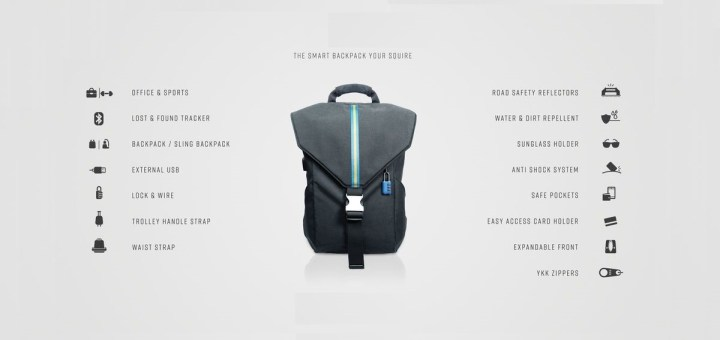 smart backpack for work in india