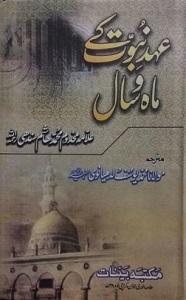 Ahd e Nubuwwat kay Mah o Sal By Allama Makhdoom Hashim Sindhi عہد نبوت کے ماہ و سال