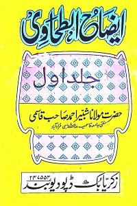 Eizah ut Tahawi Urdu Sharh Tahawi [Sharh Maani ul Aasaar] By Maulana Shabir Ahmad Qasmi ایضاح الطحاوی اردو شرح طحاوی شریف