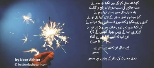 New Year Poetry in Urdu 2019