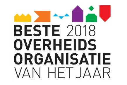 Shortlist Kandidaten 'Beste Overheidsorganisatie van het Jaar' 2018 bekend