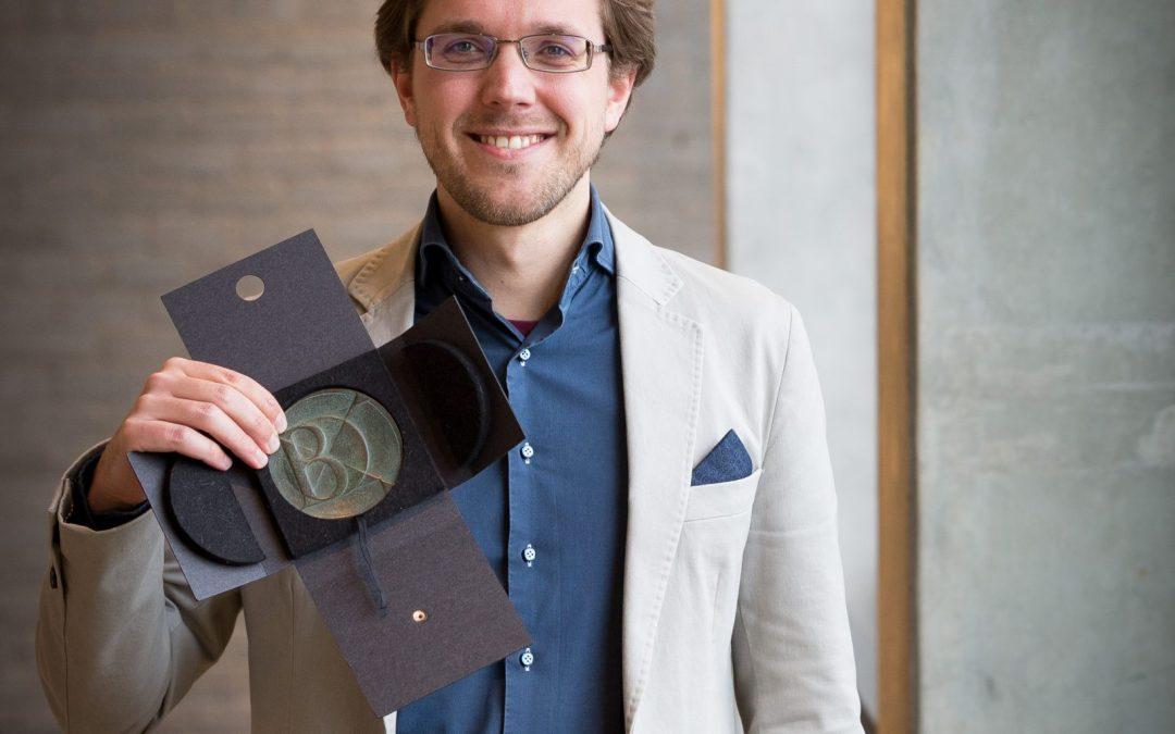 Dorian Schaap ontvangt de Van Poeljeprijs 2018