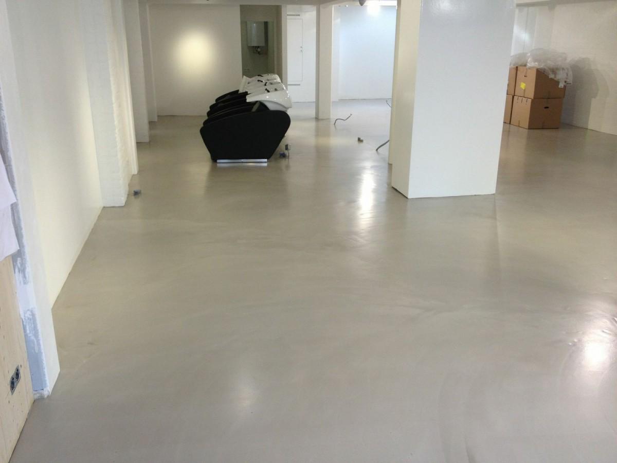 Cement Gebonden Gietvloer : Cement gebonden gietvloer trendlounge in laren best vloerrenovatie