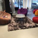 Rolcoating showroom Roche Bobois Paris Amsterdam 700 m2