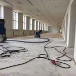 Lijmresten verwijderen Rotterdam 600 m2 Best Vloerrenovatie Best Building Service B.V.