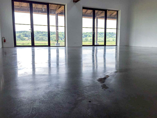 Betonnen Vloer Prijs : Gepolijste betonvloer prijs betonvloer in een woning with