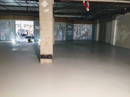 Microcement vloer Open32 Eindhoven