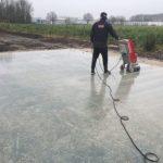 Verregende betonvloer herstellen in Nieuwegein