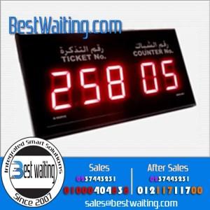 شاشة خدمات رقمية 5 خانة QWD-604