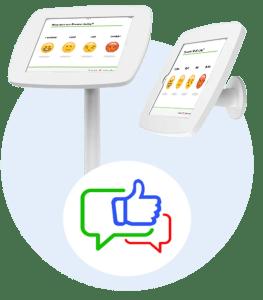 تقييم العملاء لوجو