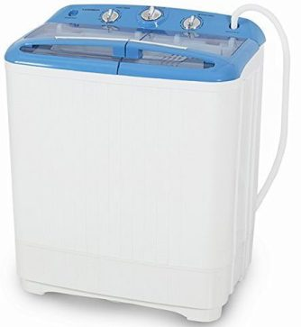 ARKSEN Portable Mini Small Washing Machine with Spin Dry