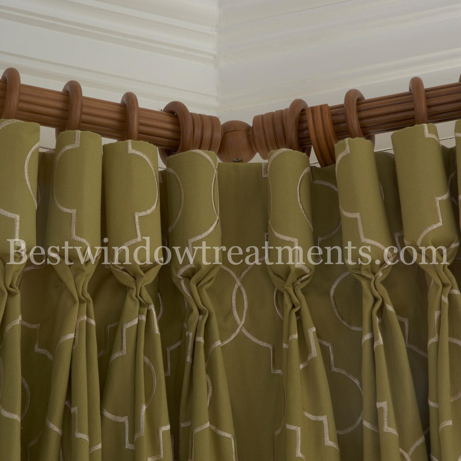 Corner Curtain Rods