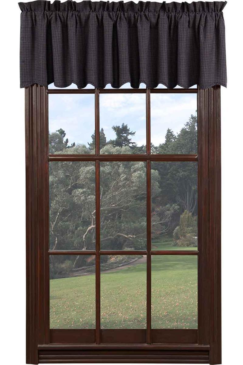Window Valance Black Inch 27
