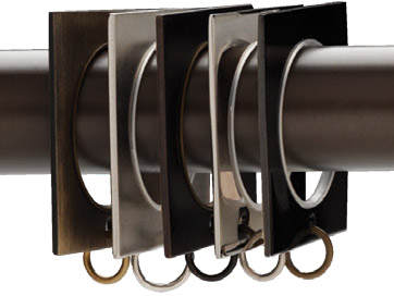 metal curtain rings for 1 3 16 curtain rods bestwindowtreatments com