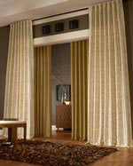shop curtains and drapes by size