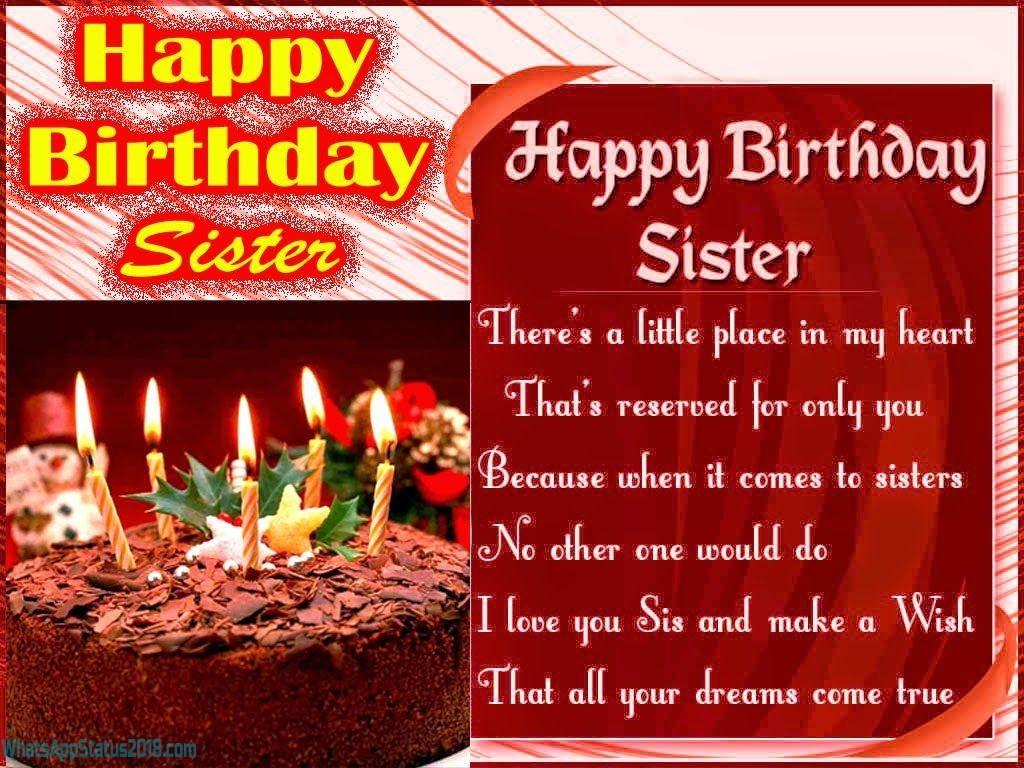 Birthday Wishes For Sister In Hindi   Janamdin Shayari in Hindi   Birthday Shayari For Sister