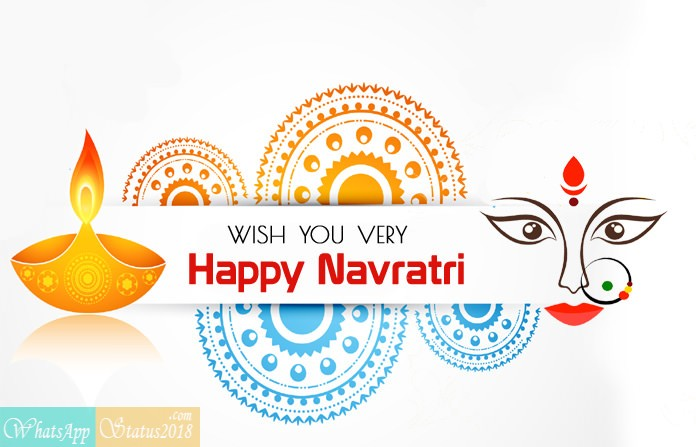 Navratri Messages for Whatsapp in Hindi 2020, Facebook and SMS, Navratri Status for WhatsApp