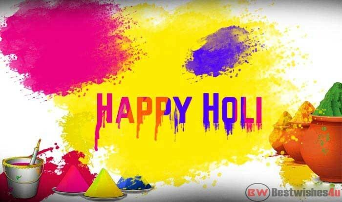 Holi Whatsapp Status Images, Happy Holi Wishes Images 2020, Holi Shayari & Quotes