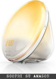 Philips HF3520/01 Wake-Up Light, con Radio FM – Il secondo miglior modello