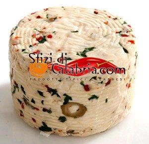 Formaggio pecorino rucola e peperoncino - Migliori prodotti tipici calabresi