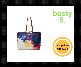 Desigual Corel Seattle, borsa shopper reversibile