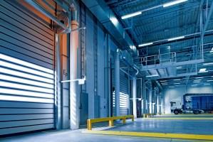 Empty trucking warehouse