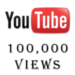 100,000 YouTube Views