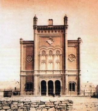 Sinagoga u Zagrebu, srušena 1941./42.