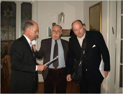 Česški veleposlanik Martin Košatka, dr. Šalamon i dr. Kudela