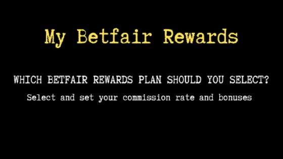 My Betfair rewards plan