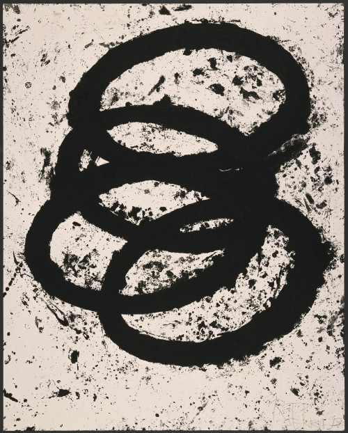 RICHARD SERRA T.E. Siegen, 1998-99 Etching on Somerset Satin paper.  59.625 x 47.5 in (151.45 x 120.65 cm)