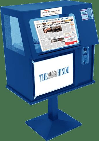 Risultati immagini per newspaper vending machine