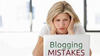 10 blogging mistakes newbies make