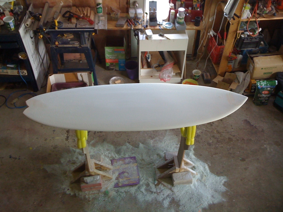 surfboard shaping
