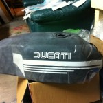 Ducati Tank - test fit