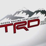 TRD OFF ROAD replacement decals