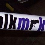 Blackmarket bike sticker blkmrkt