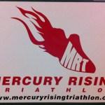 Mercury Rising Triathlon Vehicle Magnet