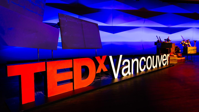 TEDxVancouver Signage - JonathanEvans