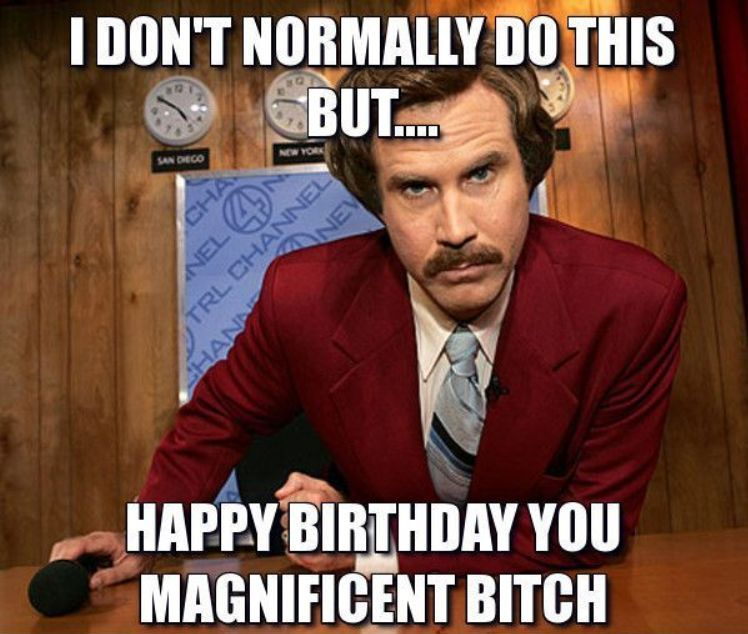 Funny happy birthday memes collection to celebrate this day