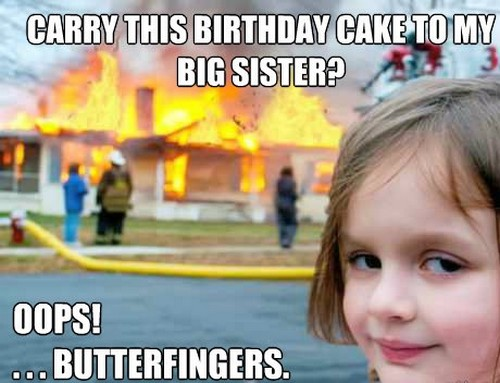 happy birthday sister meme to big sister